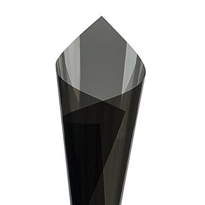 Hoho VLT 35% Noir Nano en céramique film solaire teinté pour fenêtre de confidentialité Verre Uv99% pour fenêtre de voiture, à la maison (152cmx50cm)