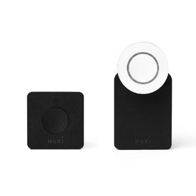 Nuki Combo (Smart Lock und Bridge) – Elektronisches Türschloss – Automatischer Türöffner mit Bluetooth, WLAN, mit Amazon Alexa - 2