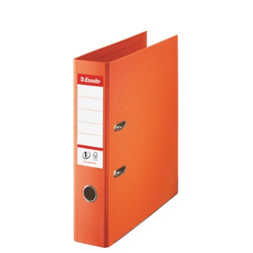 Esselte 811340 Plastik-Ordner (zur Archivierung, Plastik, A4, 7,5 cm Rückenbreite, No.1) orange