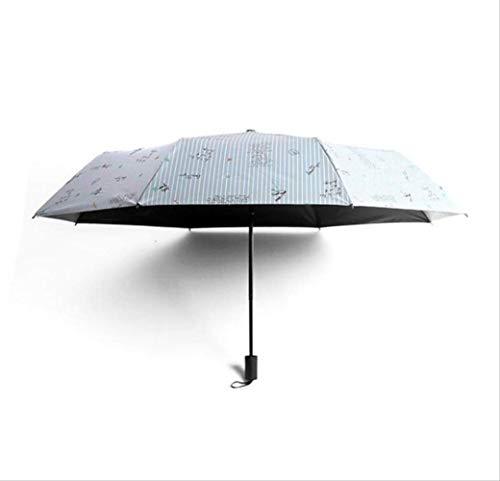 Stripe Mots Portable Parapluie Pluie Femmes Parapluie Pliant Femme Parasol Ensoleillé Belle Parasol Mini Poche Parapluie Livraison Gratuite A1