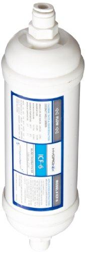 Hydronix icf-6q Inline Coconut Carbon Wasser Filter-0,6in. Quick Connect (Verbinden Wasser-filter)