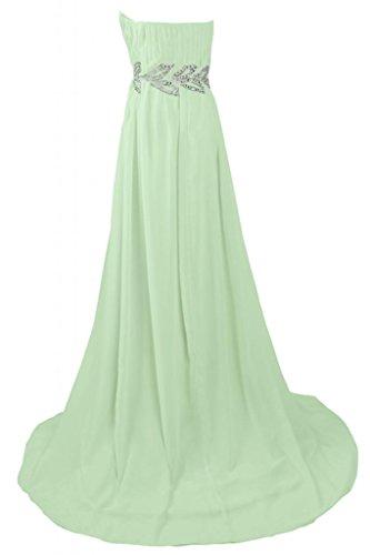 Sunvary senza spalline elegante scollo madre della sposa, abiti da sera, Donna Sage