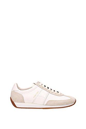 215J0948TCTKGES Tom Ford Sneakers Homme Tissu Blanc Blanc
