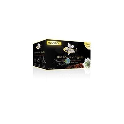 Thé noir à la nigelle, cannelle arômatisé