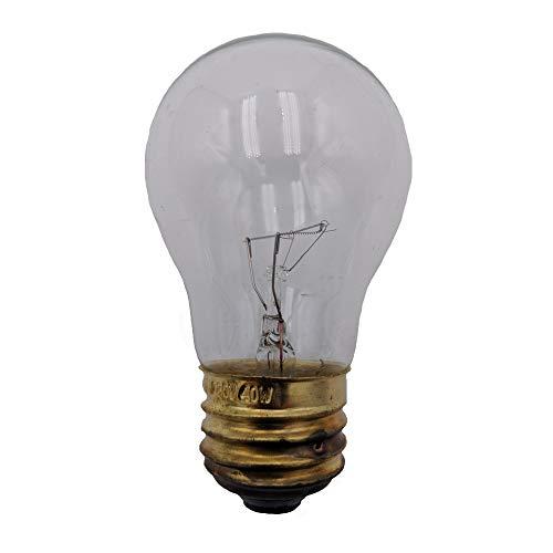 Supplying Demand Glühbirne A15, 40 Watt, für Kühlschränke und Serien -