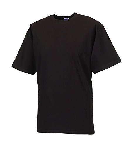 Russell Collection Klassisches schweres T-Shirt R-215M-0 Black