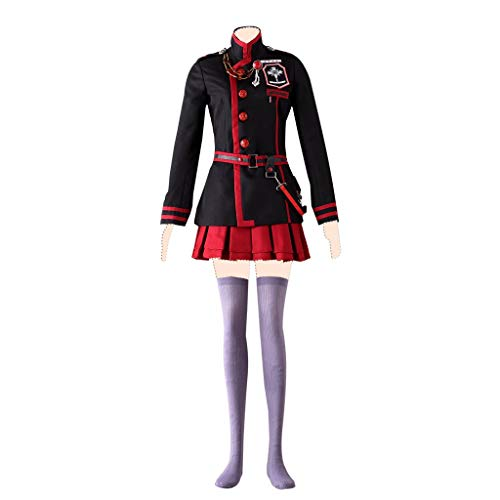 Dream2Reality D.Gray-Man Cosplay Kostuem Lenalee Lee Ver.3 Suits Large (Weibliche Videospiel Kostüm)