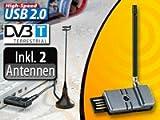"auvisio USB-DVB-T-Receiver ""DT-2505 Pico"" mit UKW-Radio"