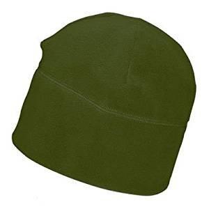 5 pezzi cappello cappellino invernale cuffia pile taglia unica 6189 verde oliva mis 46 - 50
