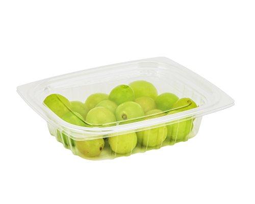 Dart c12dcpr, ML clearpac klar rechteckig, Kunststoff Behälter mit flacher Deckel, nehmen Sie Deli Fruit Einweg Lebensmittelbehälter farblos - Dart Container Clearpac