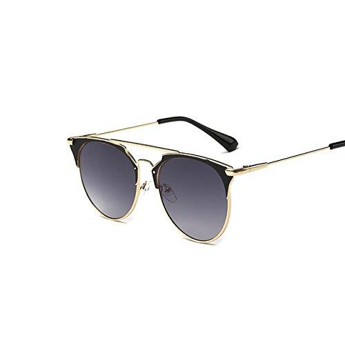 Tocoss (TM) Rétro rond œil de chat Lunettes de soleil Homme Femme Designer  Eyewear 32e604e6a95e