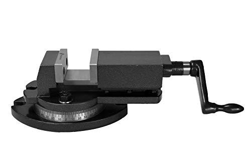 PAULIMOT Maschinen-Schraubstock 75 mm Backenbreite 360° drehbar