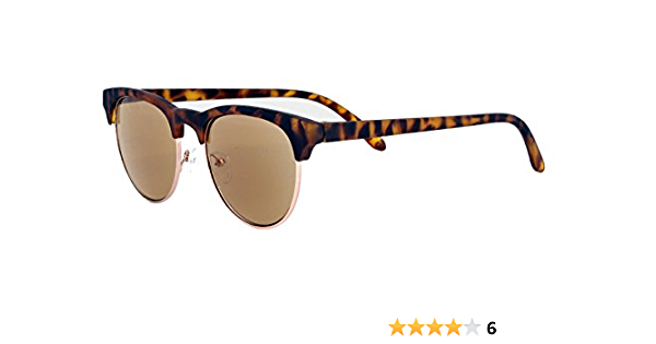 Sonnenbrille mit Sehstärke Sonnenlesebrille Nerd Federbügel Lesebrille 2,5 leo