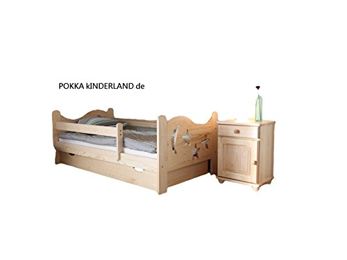 Arbox Kinderbett, Holz, Natural, 140.0 x 70.0 x 60.0 cm