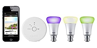 Philips Hue Personal Wireless Lighting Starter Kit (3 x A19