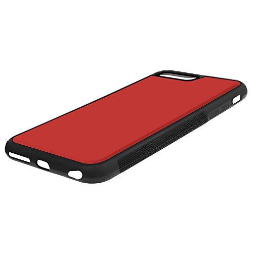 Coque Magique iPhone 6 Plus/6s Plus SHANSHUI Étui à Clapet 2 en 1 Portefeuille de Protection Housse à Rabat Sensible à La Chaleur avec Coque Arrière en TPU+PC (i6 Plus Rouge-Jaune) Rouge-Jaune
