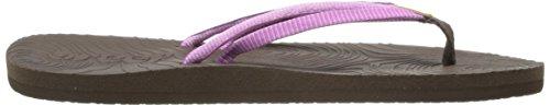 Reef Double Zen, Chaussures de piscine et plage femme Violet (Brown/Purple)
