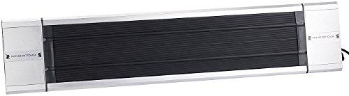 Semptec Dunkelstrahler: Profi-Infrarot-Heizstrahler RA-118, Fernbed, 1.800 W, IP55 (Dunkelheizstrahler) - 2