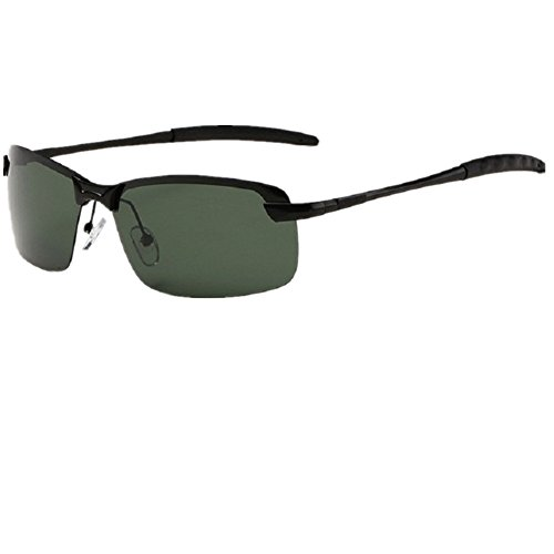O-C Men's Driving Oversized 66mm Polarized Sunglasses