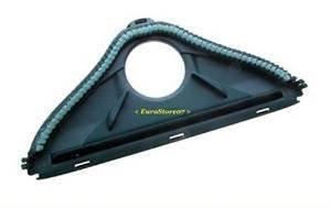 Eurostore07 1 spazzola con setole per folletto vk 140 150 aspirapolvere vorwerk non originale, nero, piccola