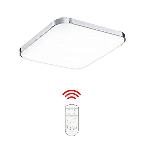 Hengda® LED Deckenleuchte Moderne Esszimmer Deckenbeleuchtung Badezimmer geeignet [Energieklasse A++] (36W Dimmbar)