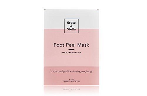 Peeling Socken BESTE Baby Fuß Peeling Maske | Für Zarte Weiche Füße, Natürliche Behandlung für Trockene Abgestorbene Haut, Raue Fersen, Entfernt Hornhaut, mit Einweich-Strümpfen, Original (1 - Baby Füße Fuß-behandlung