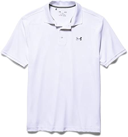Under Armour Herren Poloshirt Performance, weiß (white), XL, 1242755
