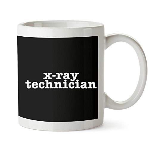 Bold X-ray (Idakoos X Ray Technician Bold Typewriter Becher Keramik 11 unzen)