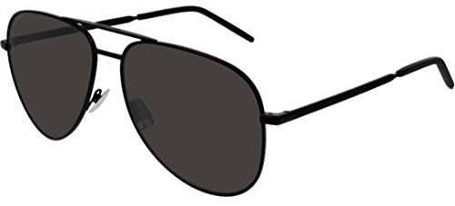 Saint Laurent Sonnenbrillen Classic 11 Folk Black/Grey Unisex