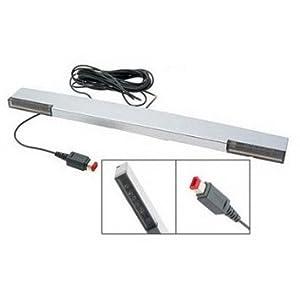 giZmoZ n gadgetZ GNG Nintendo Wii/Wii U Ersatz-Sensorleiste, mit Kabel, freistehend