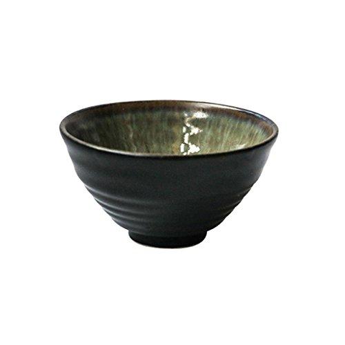 HYLR Style japonais rétro bol en céramique créative bol bol à soupe bol en porcelaine maison salade verte bol plateau de fruits bowl fruit salad dish plate