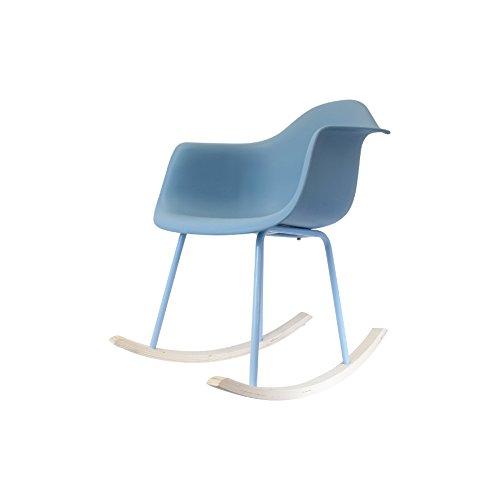the home deco factory hd3609 lot de 2 fauteuils bascule metalpp - Lot 6 Chaises Scandinaves2126