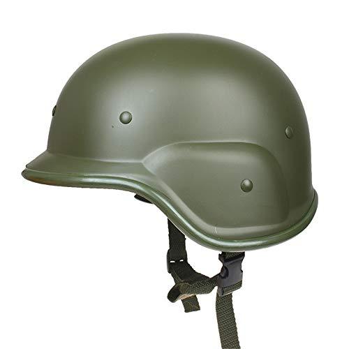 Un Casco Da Motociclista, Campo All'Aperto),Verde Militare