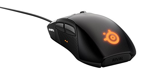 SteelSeries Rival 700 Optische Gaming-Maus (7 Tasten, OLED-Display, Haptisches Feedback) schwarz - 2