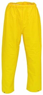 PU Regenbundhose 6051-0-1200-XXL Regenhose, PU auf Nylon Trägermaterial, Größe XXL, Farbe: gelb