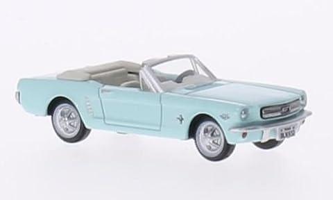 Ford Mustang Convertible, türkis, 1956, Modellauto, Fertigmodell, Oxford