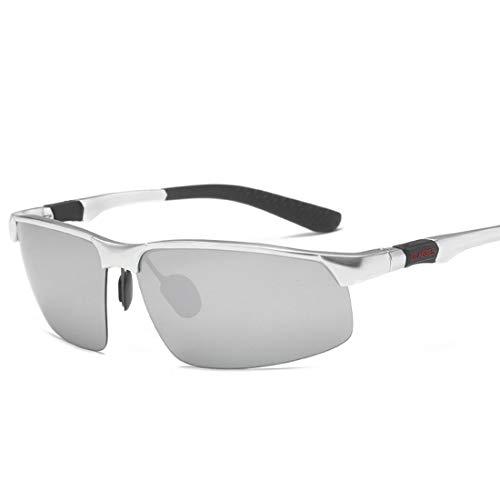 Chengleilei Sonnenbrille Männer Polarisator Aluminium Magnesium Radfahren Drive Brille Sonnenbrille Bewegung (Size : A003)