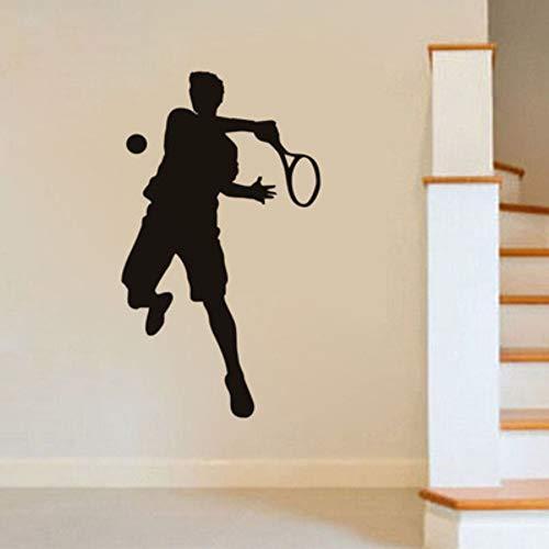 Dekorative Tapeten-Wandaufkleber-Tennis-Prinz Sports Wall Stickers Passend Für Wohnzimmer