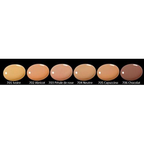Zao Organic Makeup - fondotinta liquido Silk cioccolato 706-1 oz.
