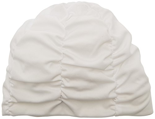 Fashy Badehaube aus Polyester, Turban weiß Bianco - Bianco