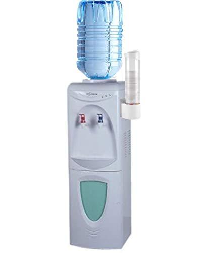 Govita distributore d acqua a colonnina refrigerante a boccioni erogatore con portabicchieri