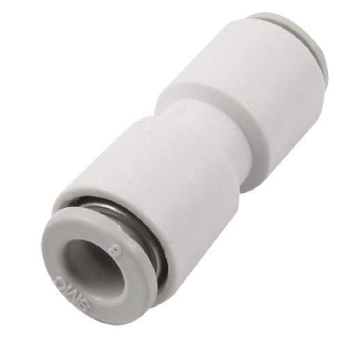 sourcingmap® 6mm Pneumatico Tubo Dritto Aria Rapido Connettore One Touch Raccordo Ad Innesto