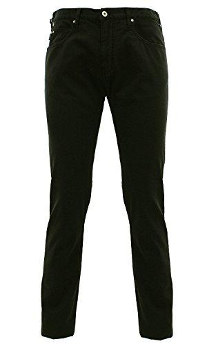 C6J74 NAE5 Armani Jeans Pantalone cinque tasche Nero 34 Uomo