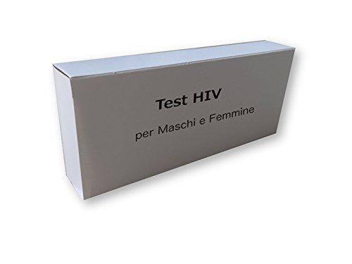 Test per HIV tipo 1 e 2 per Maschi e Femmine, (Risultati in solo 10 minuti)