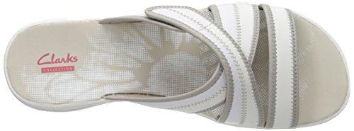 Clarks Brinkley Arney Sandal white