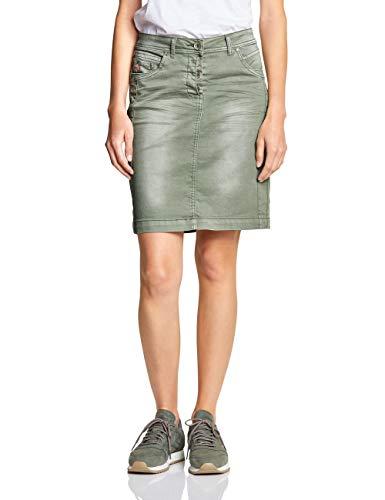 Cecil Damen 360367 Jenna Rock, Light Khaki, Large (Herstellergröße:32)