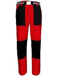Best Uniform Arbeitshose Sicherheitshose Schutzhose Hose Cargo - Hose  zweifarbig Rot (ZWF-Hose- 545ff279e7