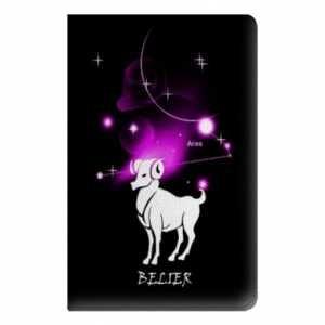 Preisvergleich Produktbild Leather flip case Ipad Pro 12.9 signe zodiaque - - Belier N