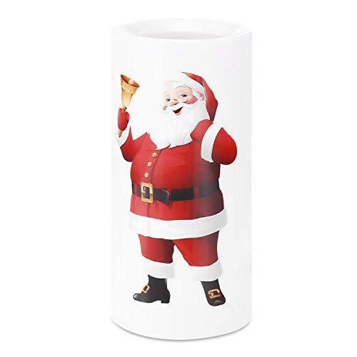 Lampada Da Interno Proiettore A Lume Di Candela Pupazzo Di Neve Babbo Natale Illuminazione Interna Per La Decorazione Natalizia Per Feste Natalizie 4 Led