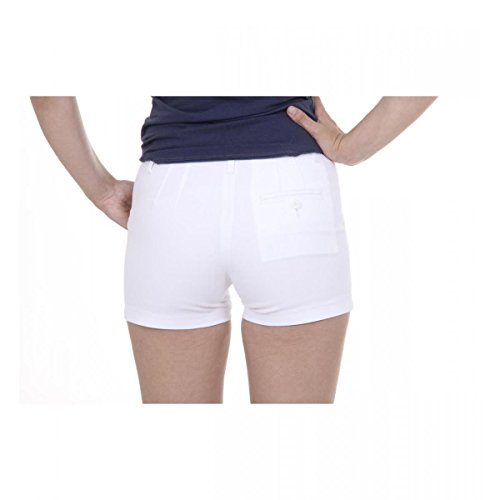 Fred Perry Fred Perry Womens Shorts 31512075 9100 BIANCO Bianco